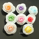 50 X White Rose Artificial Flower for Make Flower Balls Tabble Scatter Mix Color