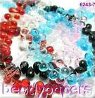Glass Beads Teardrop 6mm x 9mm Drop Bead U Choose Colour and Quantity 20 40 100