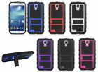 Rugged Hard Cover Gel Case For Samsung Galaxy S4 4 IV I9500