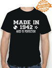 Rock n roll 80th BIRTHDAY Printed T-Shirt Made In 1940 / Christmas / All Sizes