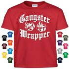 Gangster Wrapper Funny Christmas T Shirt Empire Thug Life Hip Hop Beats Gift