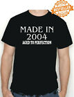 18th BIRTHDAY T-shirt Made in 2002 Aged To Perfection / Anniversary / All Sizes
