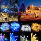 100 200 300 500 1000LED String Fairy Lights Party Christmas Tree Xmas Wedding UK