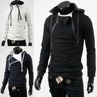 Men's Fashion Top Designed Slim Fit Sexy Leisure Hoodies Cosplay Jacket Coat 3C