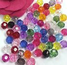 100pcs/500 pcs 8mm Acrylic Faceted round bead c584 U PICK