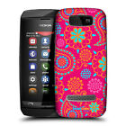 HEAD CASE DESIGNS PSYCHEDELIC PAISLEY SNAP-ON BACK CASE COVER FOR NOKIA ASHA 305
