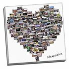 birthday present gift heart  collage canvas print picture custom personal