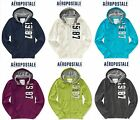 NWT. S, L, XL,  AEROPOSTALE SWEATSHIRT ZIP UP HOODIE JACKET BLUE WHITE GREEN +++