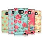 HEAD CASE NOSTALGIC ROSE PATTERN BACK CASE COVER FOR SAMSUNG GALAXY S2 II I9100