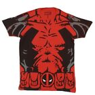 Deadpool Costume Marvel Comics Licensed Adult Shirt S-XXL