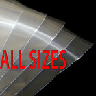 GRIP SEAL BAGS Self Resealable Poly Clear Plastic Polythene Small-Large ALLSIZES