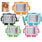 Hot EVA Kids Cover Thick Foam Shock Proof Soft Handle Stand Case for iPad 2 3 4