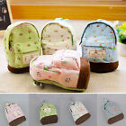 Fashion Women Lady Girl Pouch Coin Card Key Purse Backpack Bag Wallet Flower