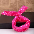 1pc  Japan Style Rabbit Ear Ribbon Fit Bracelet Scarf Headband Hair Band