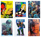 "JUDGE DREDD / 2000AD Trading ""CHASE CARDS"" 1990's Epics NEW CONDITION, SIGNED..."