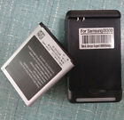 Battery + US USB AC wall Charger fit Samsung Galaxy S3/i9300 i9308 i535 i9305