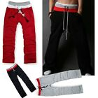Men's Gym Yoga Athletic Loose fit Sport Casual Long Pants Trousers Hot Sale