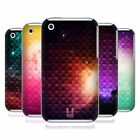 HEAD CASE PRINTED STUDDED OMBRE SNAP-ON BACK CASE COVER FOR APPLE iPHONE 3G 3GS