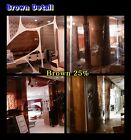 """WIDE:20""""/VLT 25% Brown Solar Film/Tint/Window/Glass/1PLY Normal/Privacy/Roll/"""
