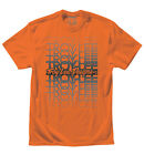 NEW TROY LEE DESIGNS TLD FADE MEN'S COTTON TEE T-SHIRT ORANGE ALL SIZES