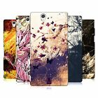 HEAD CASE DESIGNS FLORAL DRIPS CASE COVER FOR SONY XPERIA Z C6603