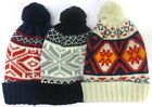 Mens Winter Bobble Hats MH POM 1