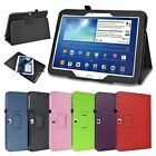 """For Samsung Galaxy Tab 3 10.1 inch 10.1"""" Tablet PU Leather Case Cover Rotating"""
