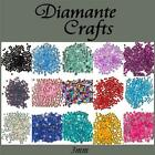 300 3mm Diamante Loose Flat Back Rhinestone Body Gems - Choose from 18 Colours