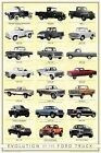 New Truck Evolution Ford Motor Company Poster