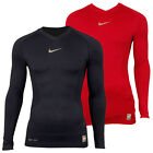 Mens Nike Pro Combat Hypercool Long Sleeve Sports Compression Baselayer Top New