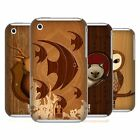 HEAD CASE DESIGNS WOOD CRAFT CASE COVER FOR APPLE iPHONE 3G 3GS