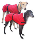 Greyhound Walking Out Dog Coat. Water-resistant microfiber, Sherpa-Fleece Lined