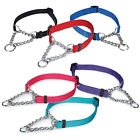 Guardian Gear Martingale Dog Collar Nylon chain 6 colors all sizes choke NEW
