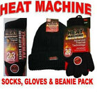 HEAT MAX / HEAT MACHINE WARM WINTER Thermal Pack 2 x socks 1 x beanie 1 x gloves