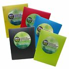 Onyx & Green 3 Prong Poly Report Cover Oxo-biodegradable Eco Friendly 5 Colors