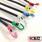 Pair 2 Small Scale Scaler Bungee Cords 6 COLOURS Choice Tie Secureing Straps 130