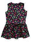 Fiveloaves Twofish Black Print Girls Cotton Dress 4, 5, 6 SPRING/SUMMER $57 NWT