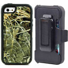 Shockproof Dirtproof Case With Belt Clip for iPhone 5 5S