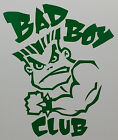 Bad Boy Club Vinyl Decal   Sticker - 12 Colors to Choose - MMA UFC
