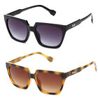 NEW Womens Retro Vintage Spike Classic Slightly Cat-Eye Sunglasses Ky8207 Multi