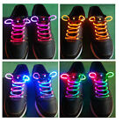 LED Light Up Shoes Shoelaces Flash Glow in Dark Stick Disco Shoestrings New