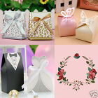 100pcs Luxury Wedding Engagement Anniversary Party Cake Favour Favor Gift Boxes
