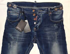 New Mens ELASTIC jeans DSQUARED 2 * men DSQ jeans * CLOSE OUT SALE!