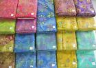 DREAMCATCHER & FOOTLOOSE batik 100% cotton fabric flavor of India swirls florals