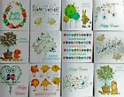 Happy Easter cards  pack of 6 cards, Various Designs, Blank or Personnalised
