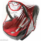Rain Cover To Fit Maxi-Cosi CabrioFix & Pebble baby car seat New VENTILATED