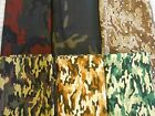 Camo camouflage 100% woven cotton quilt weight fabric colorful AENathan 1y x 44""