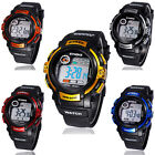 Boy Digital Led Quartz Alarm Date Sports Waterproof Wrist Watch New Cheap