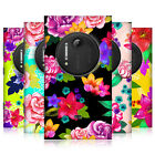 HEAD CASE DESIGNS PAINTED FLOWERS HARD BACK CASE COVER FOR NOKIA LUMIA 1020