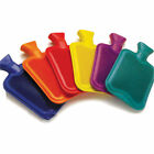New Hot Water Bottle Natural Rubber WARMER Large 2 L / Small 500 ml  in 4 Colors